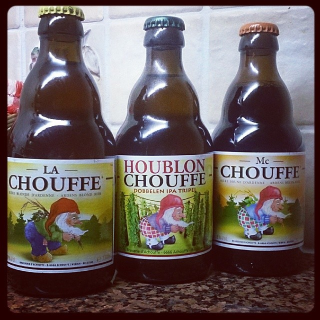 #chouffe #beer #belgium #loveinabottle