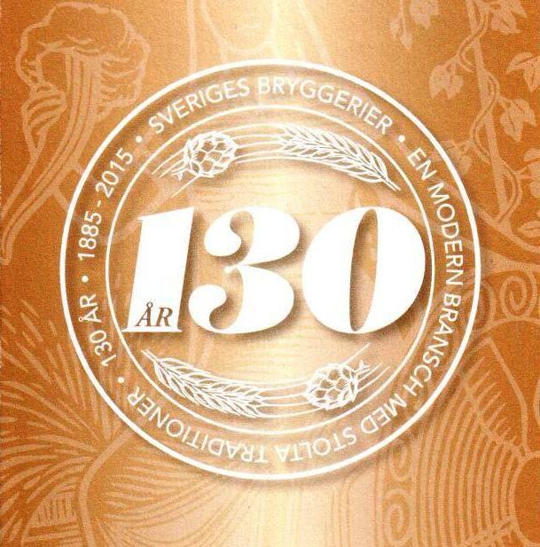 Sveriges Bryggerier 130 år