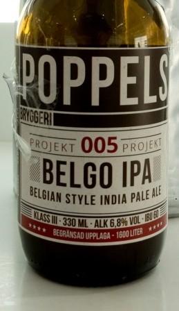 Projekt 005 Belgo IPA