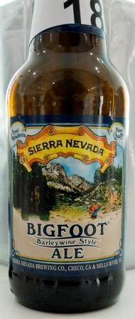 Sierra Nevada Bigfoot 2015