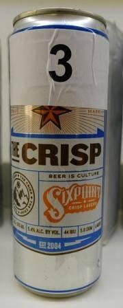 Sixpoint The Chrisp Lager