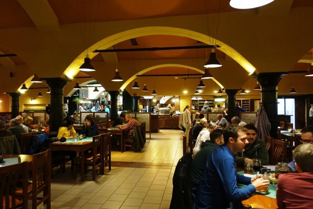 Restaurangen på Pilsner Urquell