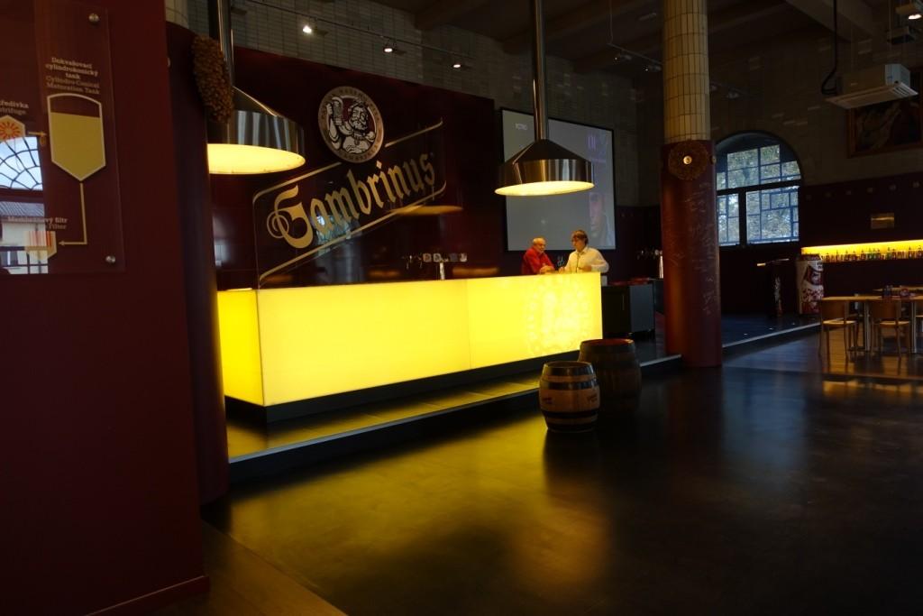 Bar i Gambrinushuset