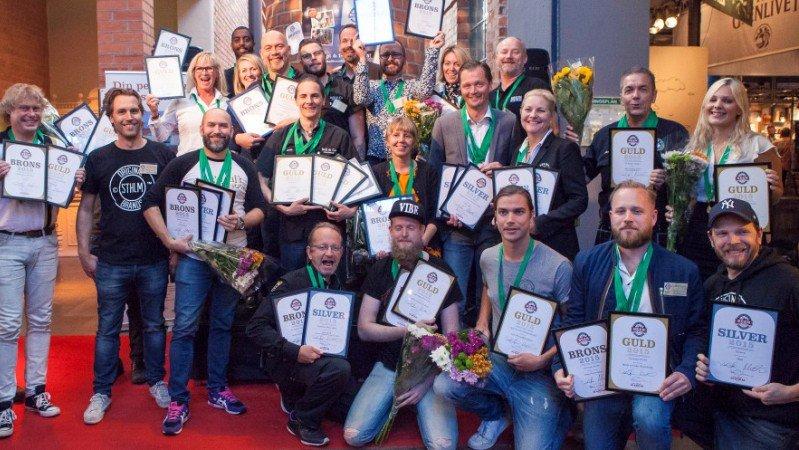 Alla vinnare Stockholm Beer 2015