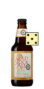 Old Stock Ale 2016 North Coast Brewing Små partier 16 september