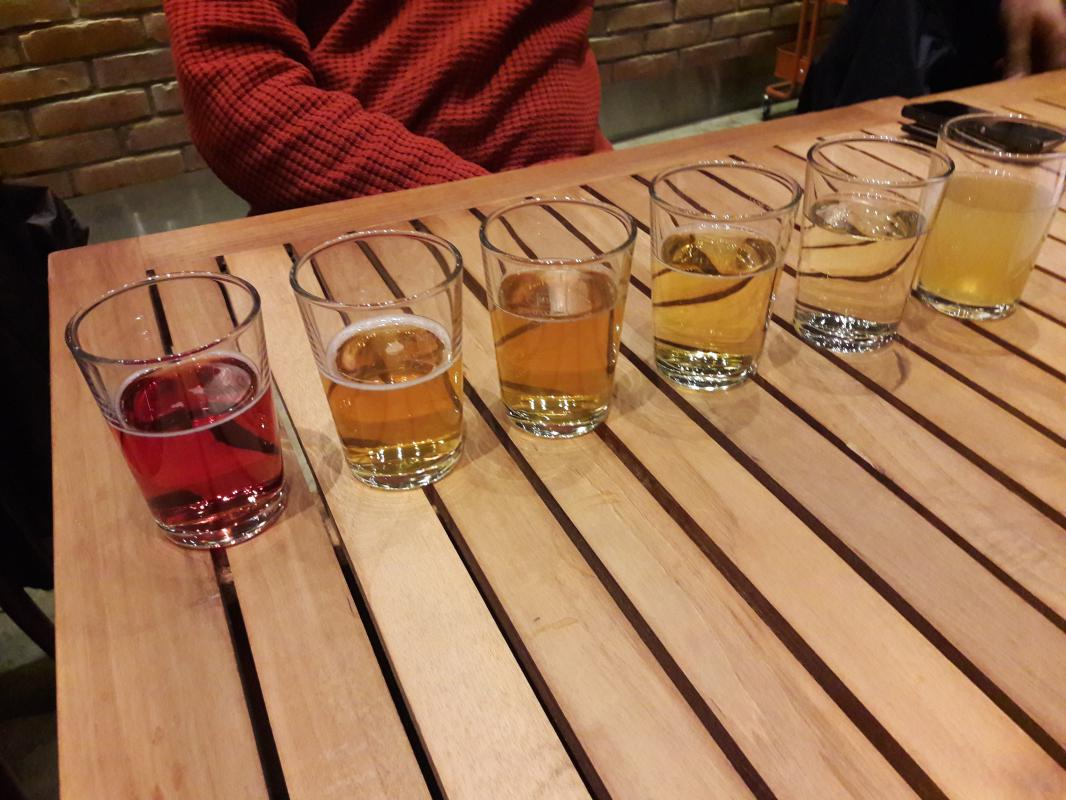 fem olika cider bryggeriet angkvarn 1