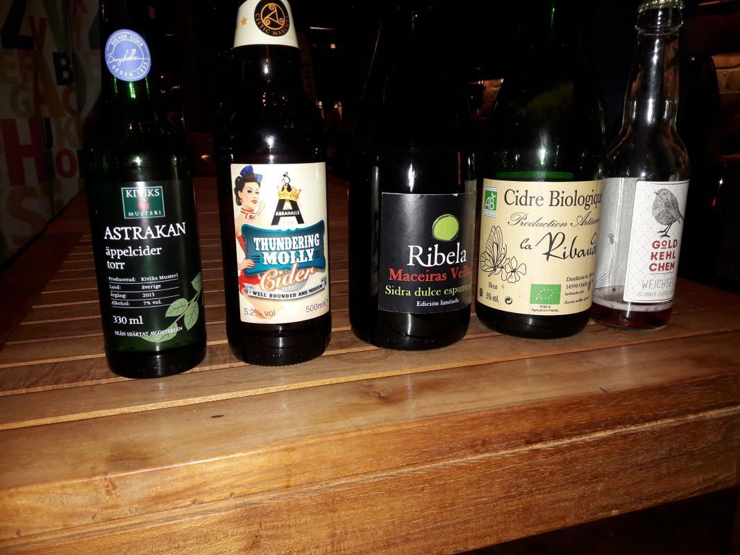 fem olika cider bryggeriet ångkvarn 2