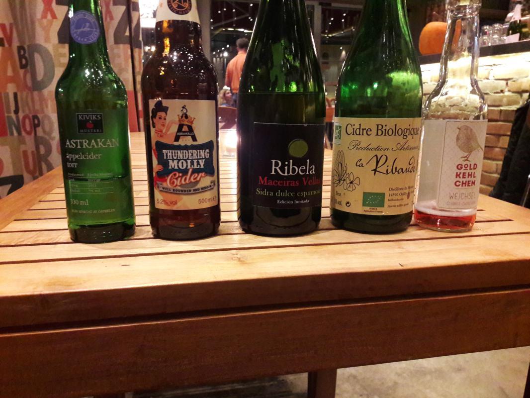 fem olika cider bryggeriet angkvarn 3