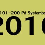 Topp 101-200 öl på Systembolaget 2016