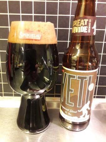 Stoutglas med Yeti