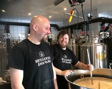 Bryggeriet Ångkvarn med Maarten Vanwildemeersch