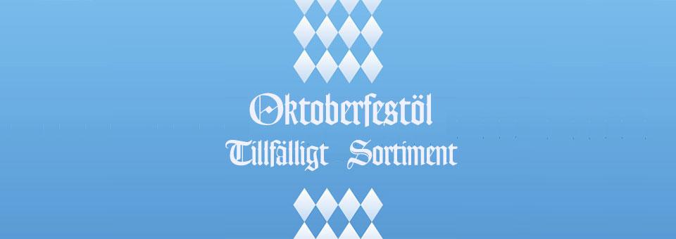 Oktoberfestöl Tillfälligt Sortiment