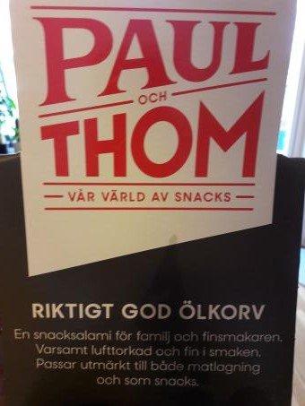 Paul och Thom Pilsner.nu
