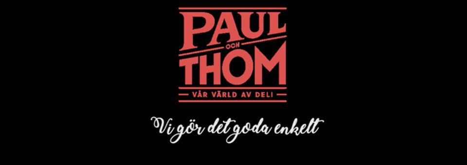 Paul och Thom. Ölmatchning