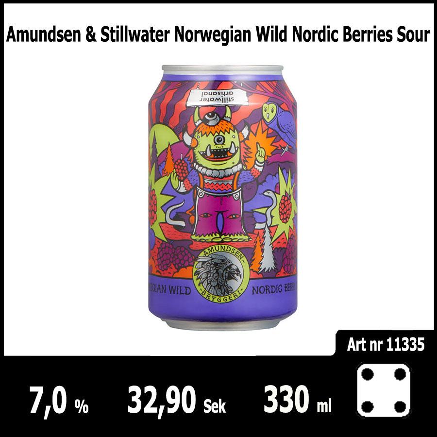 Amundsen & Stillwater Norwegian Wild Nordic Berries Sour - Pilsner.nu