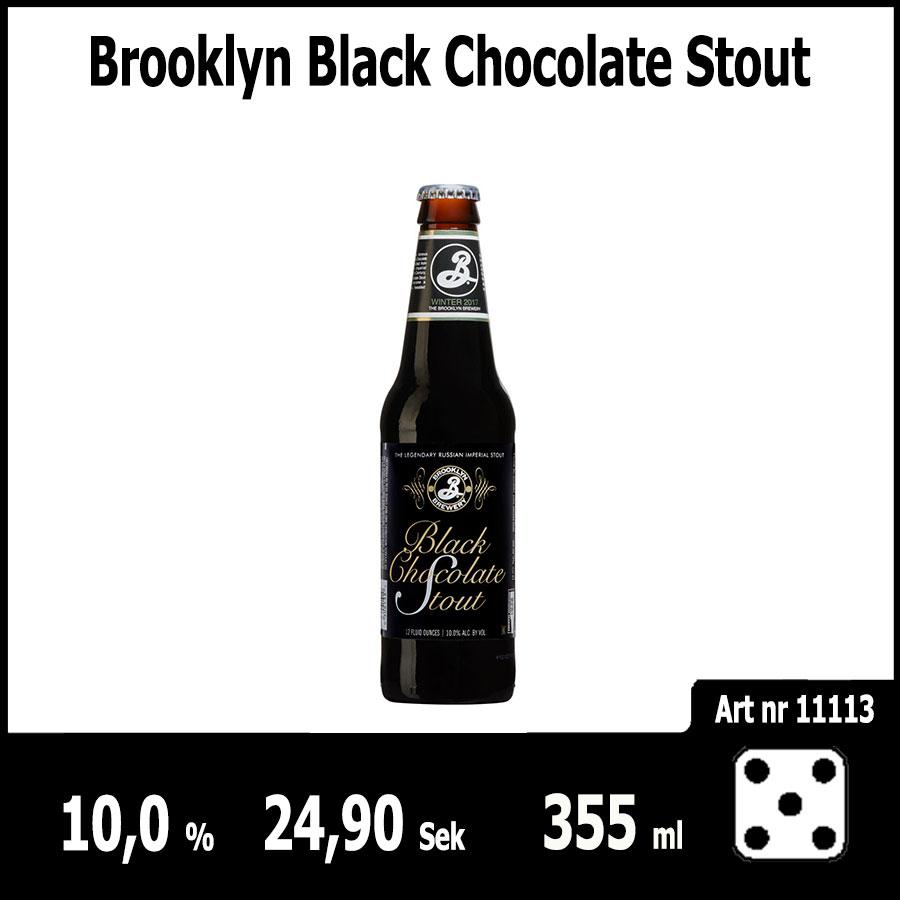 Brooklyn Black Chocolate Stout - Pilsner.nu