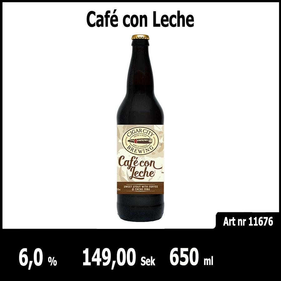 Café con Leche - Pilsner.nu