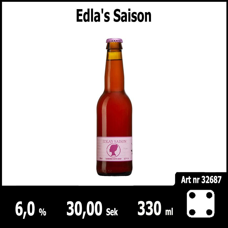 Edla's Saison - Pilsner.nu