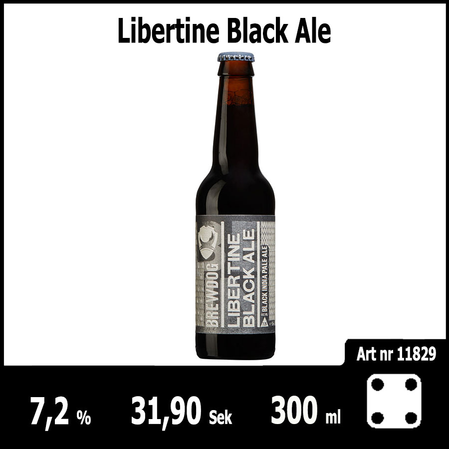 Libertine Black Ale - Pilsner.nu