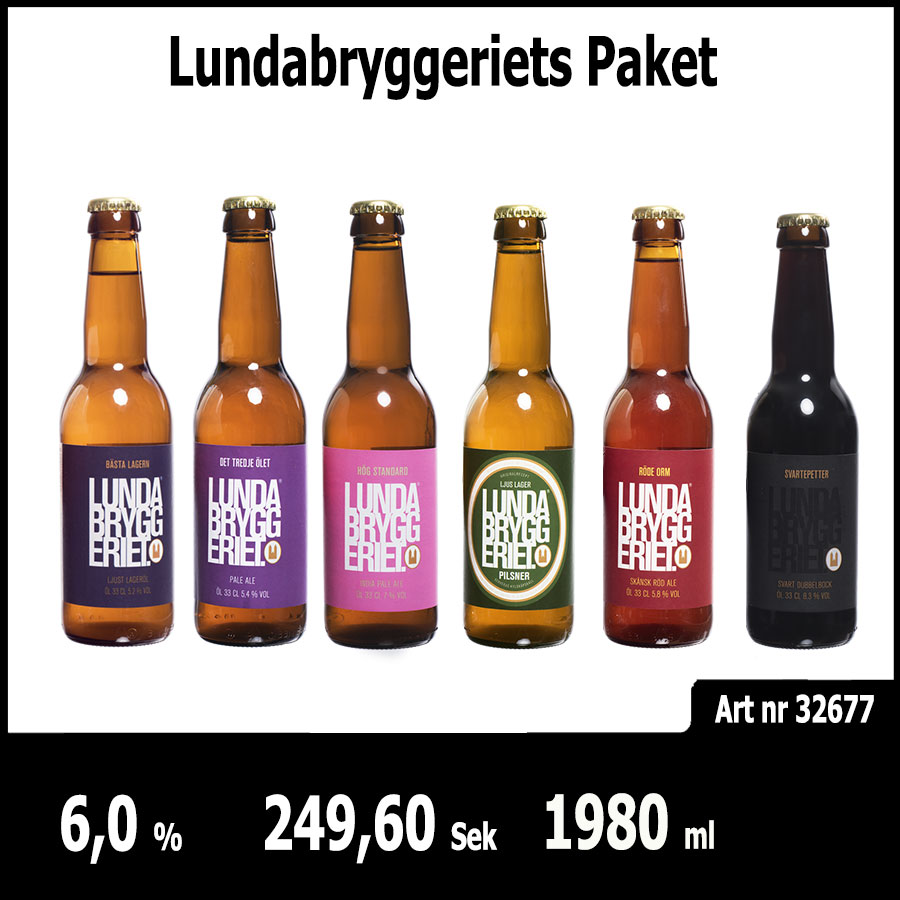 Lundabryggeriets Paket - Pilsner.nu