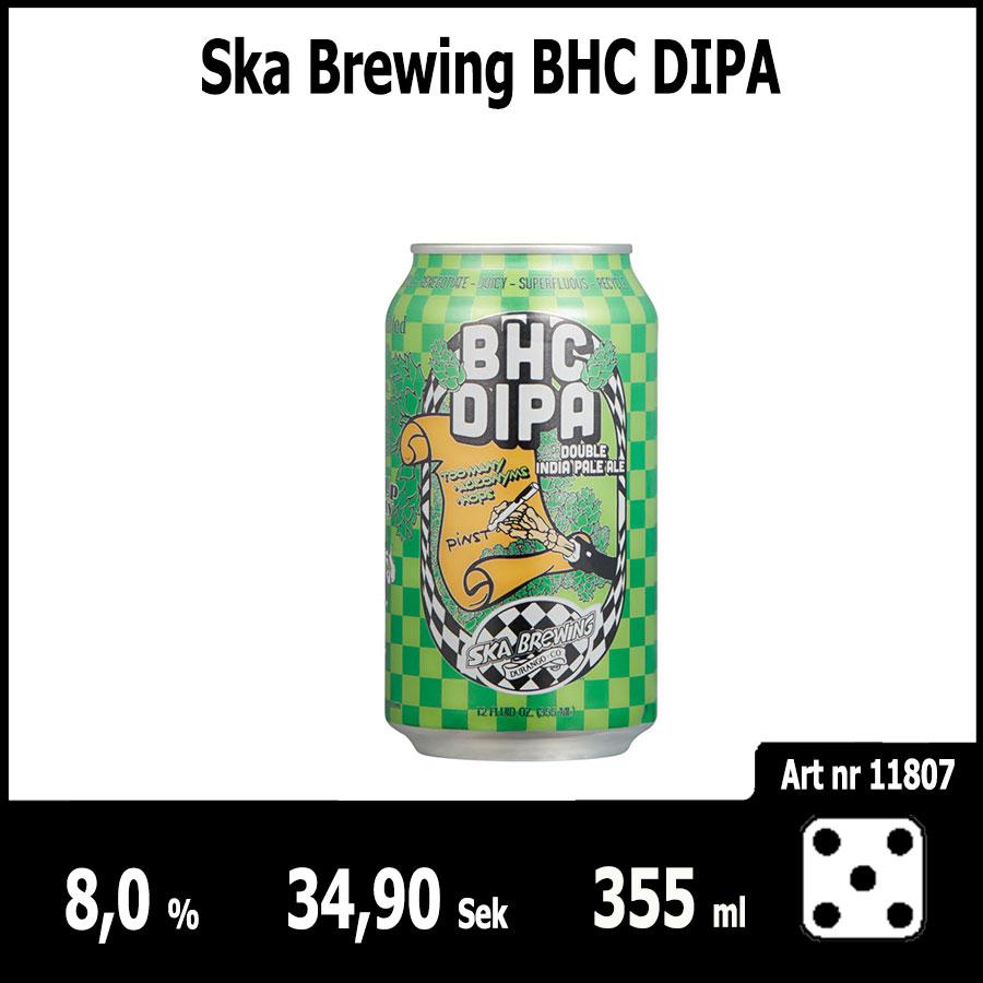 Ska Brewing BHC DIPA - Pilsner.nu