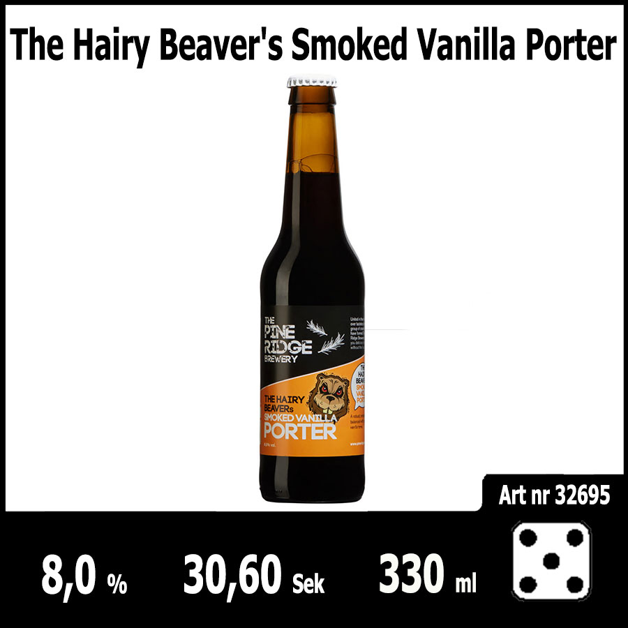 The Hairy Beaver's Smoked Vanilla Porter - Pilsner.nu