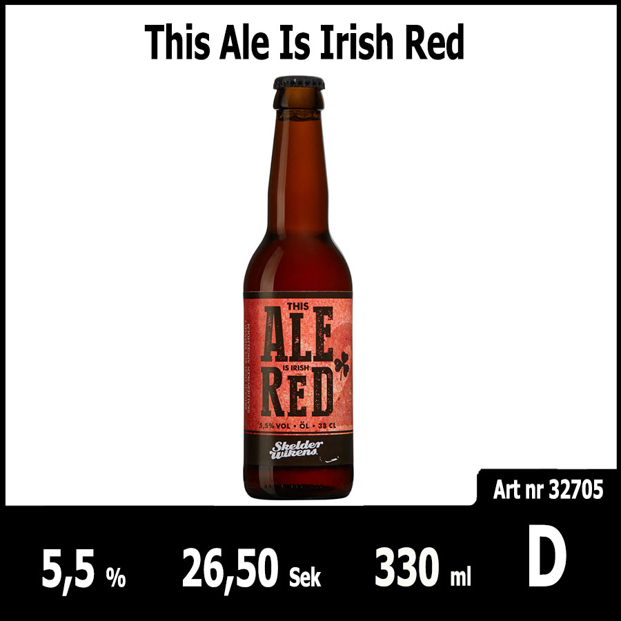 This Ale Is Irish Red - Pilsner.nu