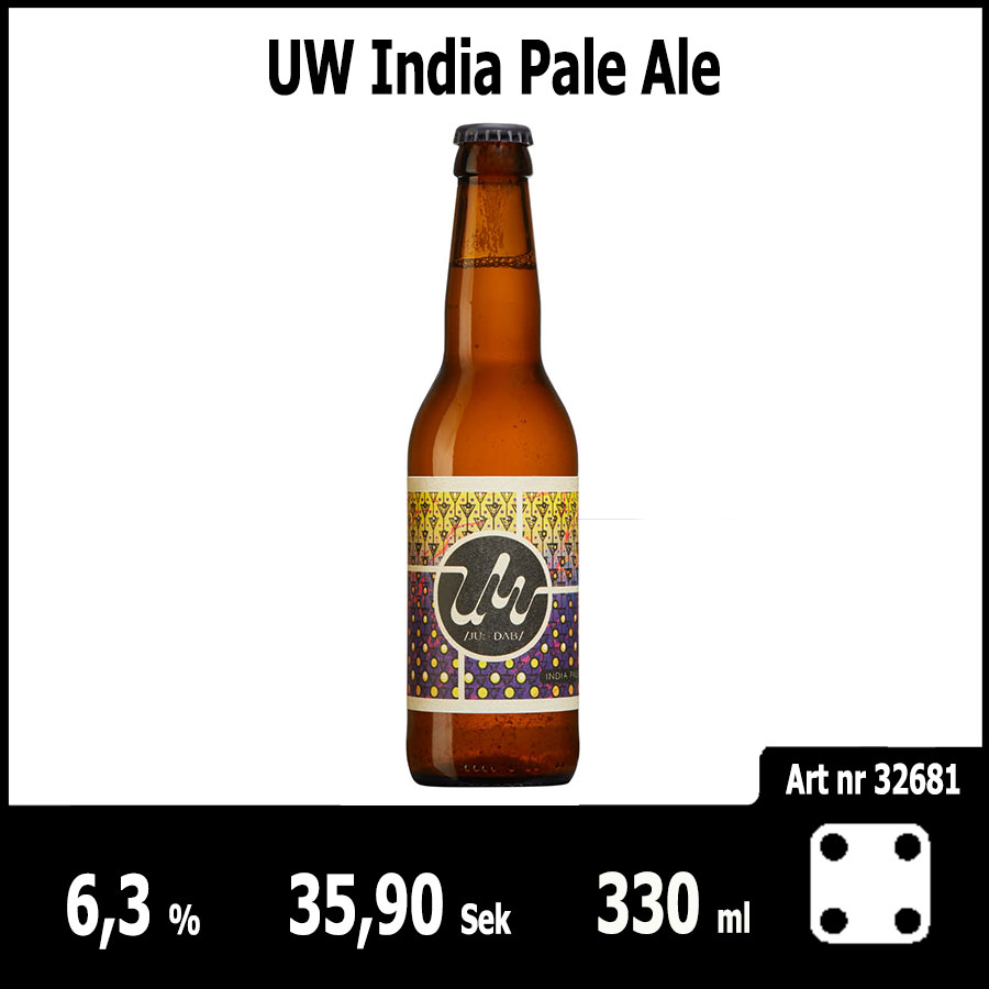 UW India Pale Ale - Pilsner.nu