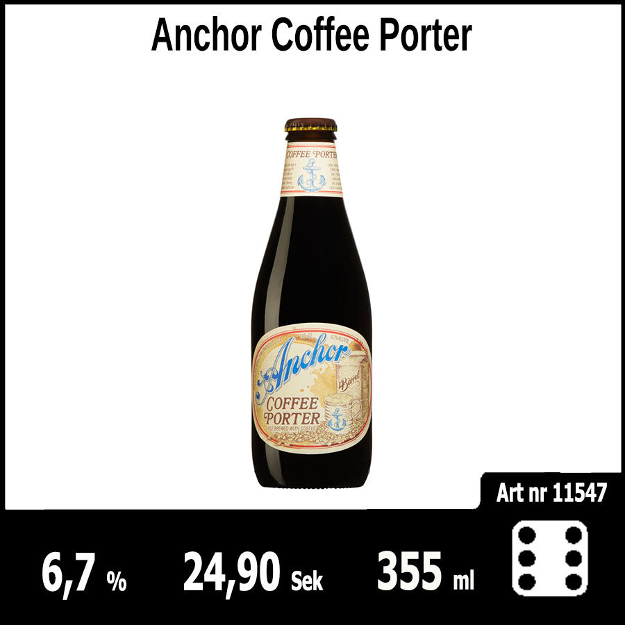 Anchor Coffee Porter - Pilsner.nu