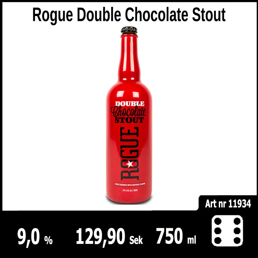 Rogue Double Chocolate Stout - Pilsner.nu