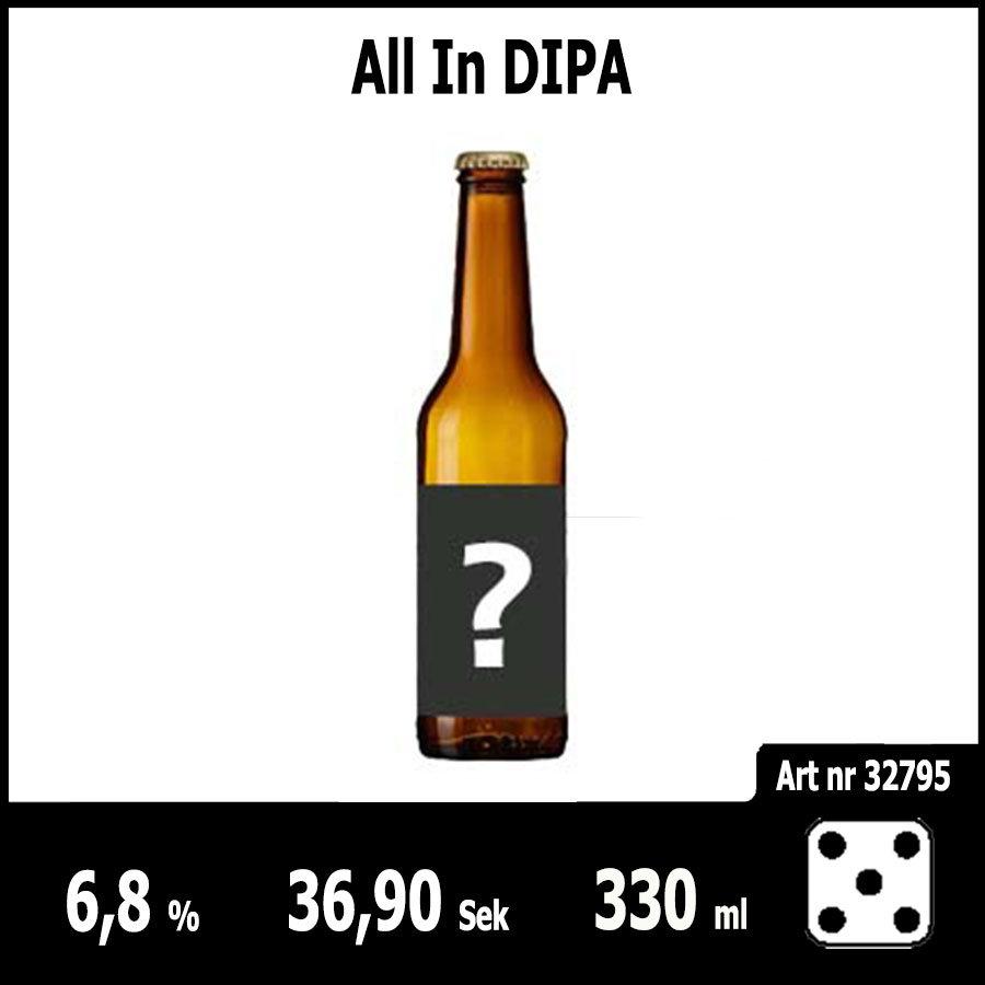 All In DIPA - Pilsner.nu