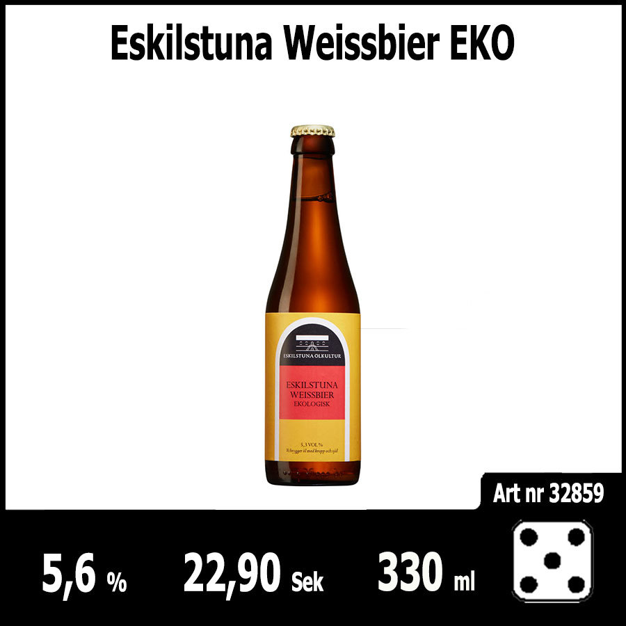Eskilstuna Weissbier EKO - Pilsner.nu