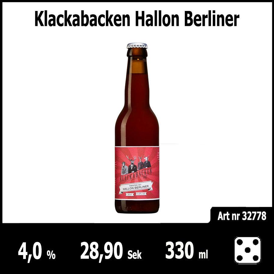 Klackabacken Hallon Berliner - Pilsner.nu