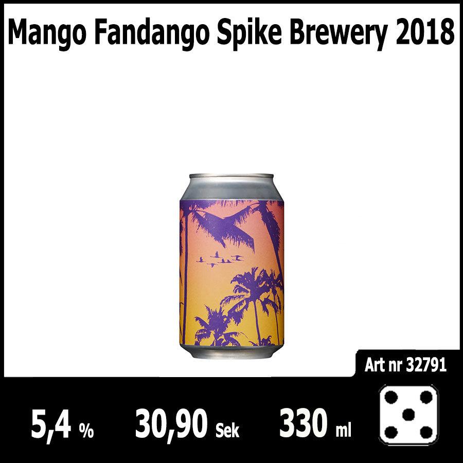 Mango Fandango Spike Brewery 2018 - Pilsner.nu