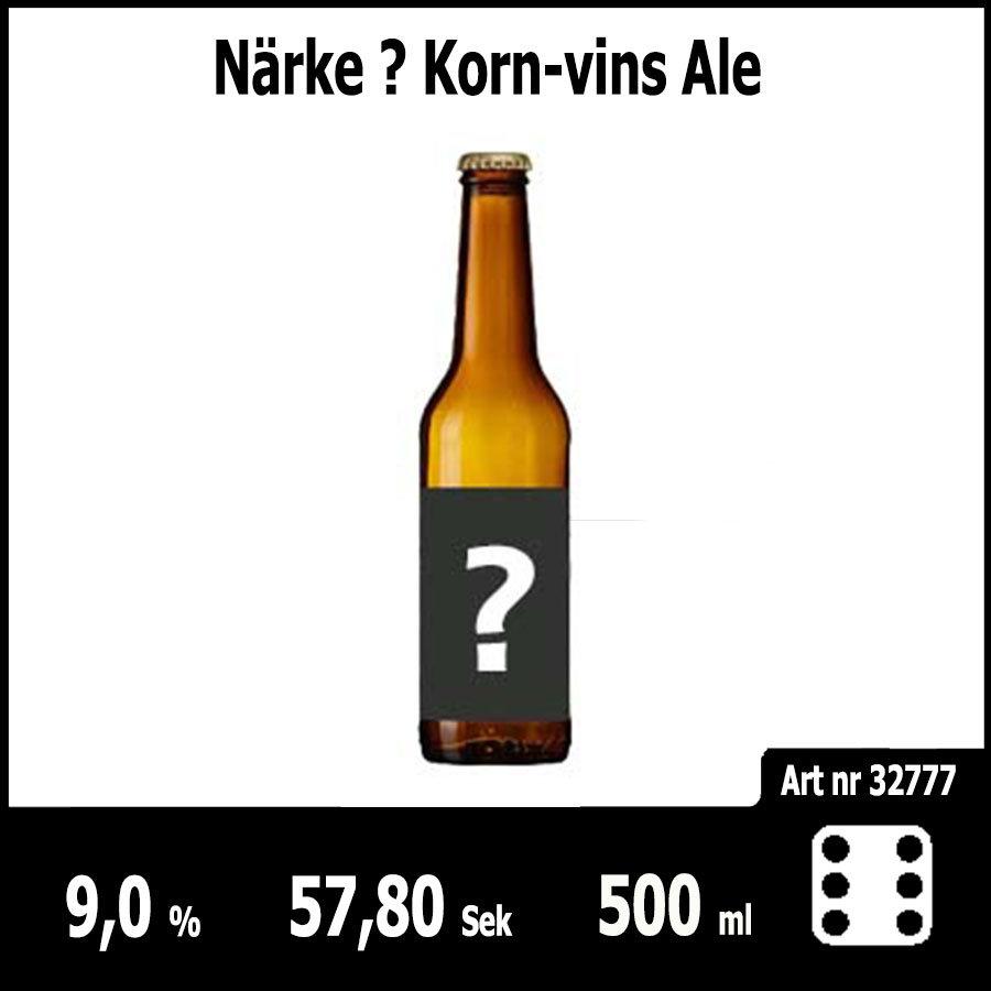 Närke ? Korn-vins Ale - Pilsner.nu