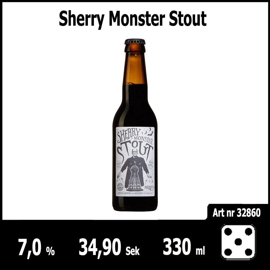 Sherry Monster Stout - Pilsner.nu
