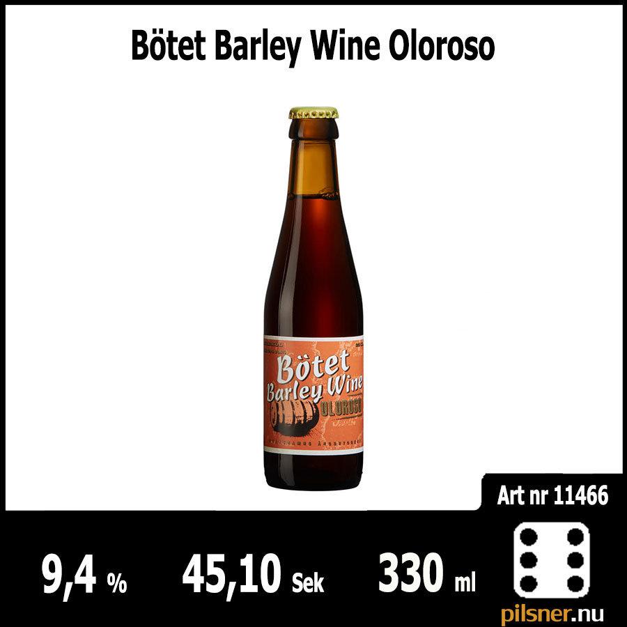 Bötet Barley Wine Oloroso