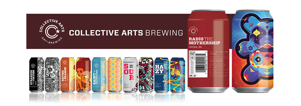 Collective Arts Brewing kommer till Sverige via TOMP
