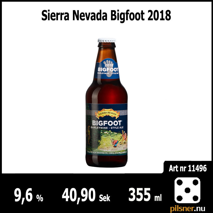 Sierra Nevada Bigfoot 2018
