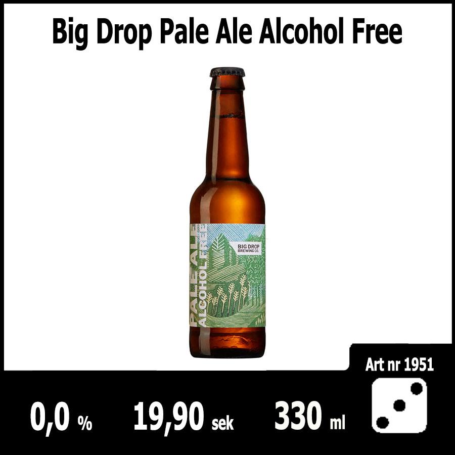Big Drop Pale Ale Alcohol Free - Fasta Sortimentet Juni 2018 : Pilsner.nu