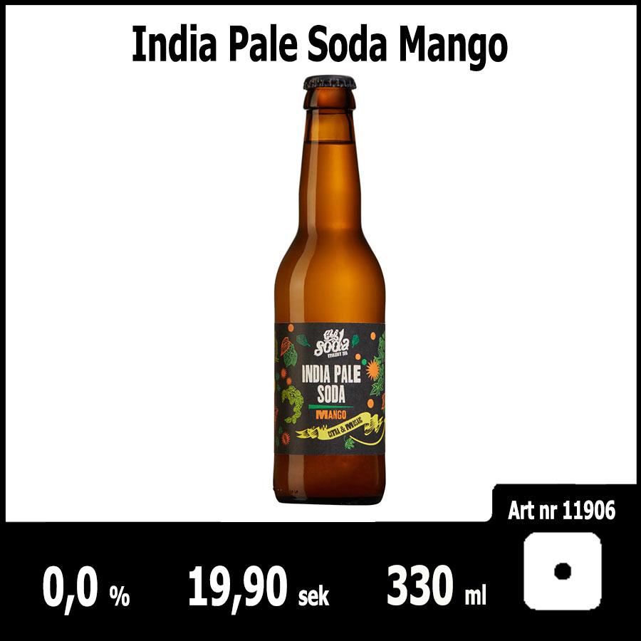 India Pale Soda Mango - FSB Juni 2018 : Pilsner.nu