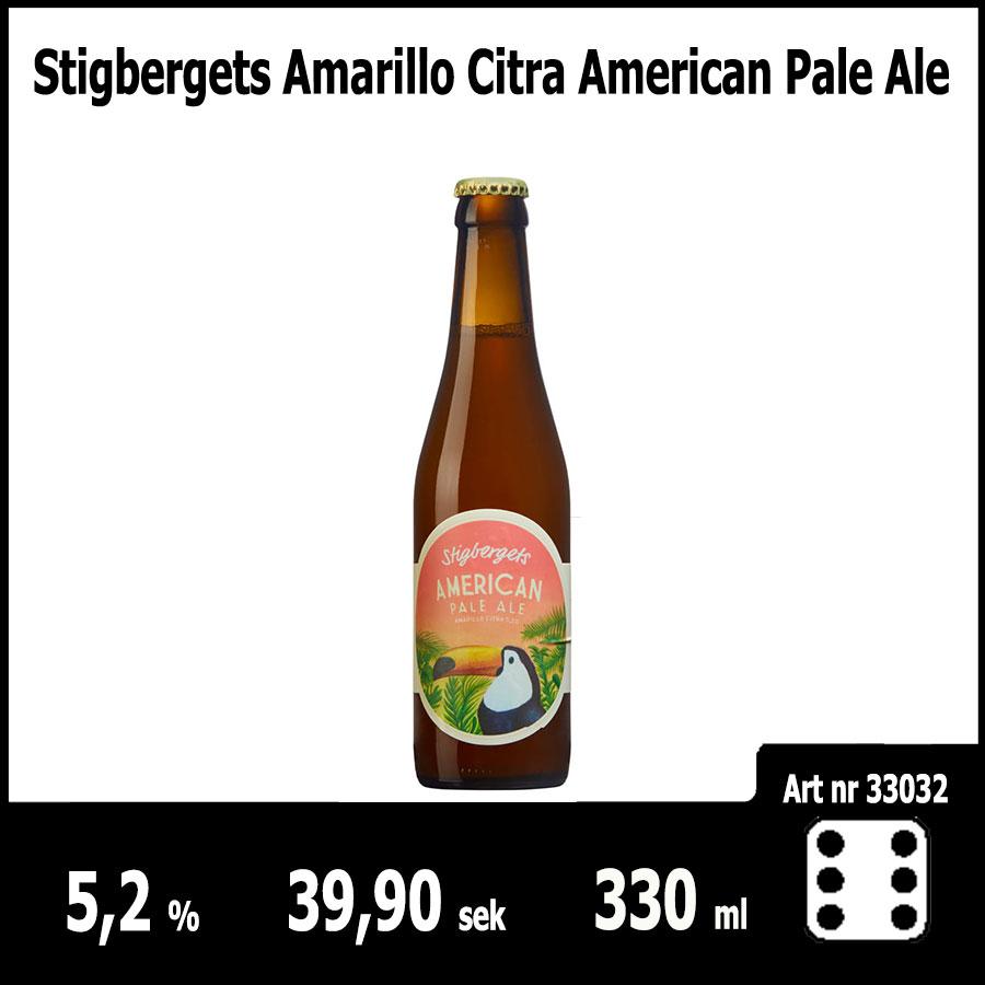 Stigbergets Amarillo Citra American Pale Ale - Pilsner.nu