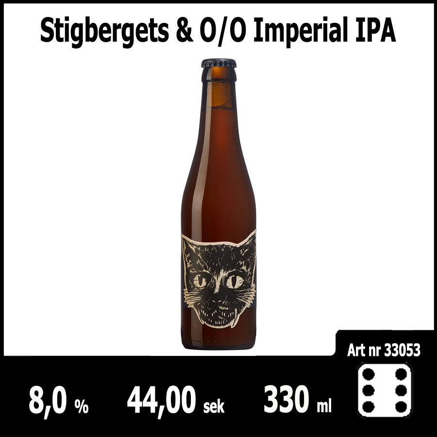 Stigbergets &O/O Imperial IPA - Pilsner.nu
