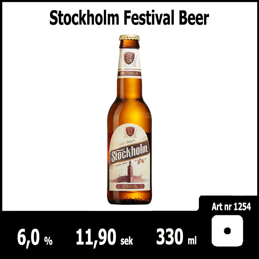 Stockholm Festival Beer - Fasta Sortimentet Juni 2018 : Pilsner.nu