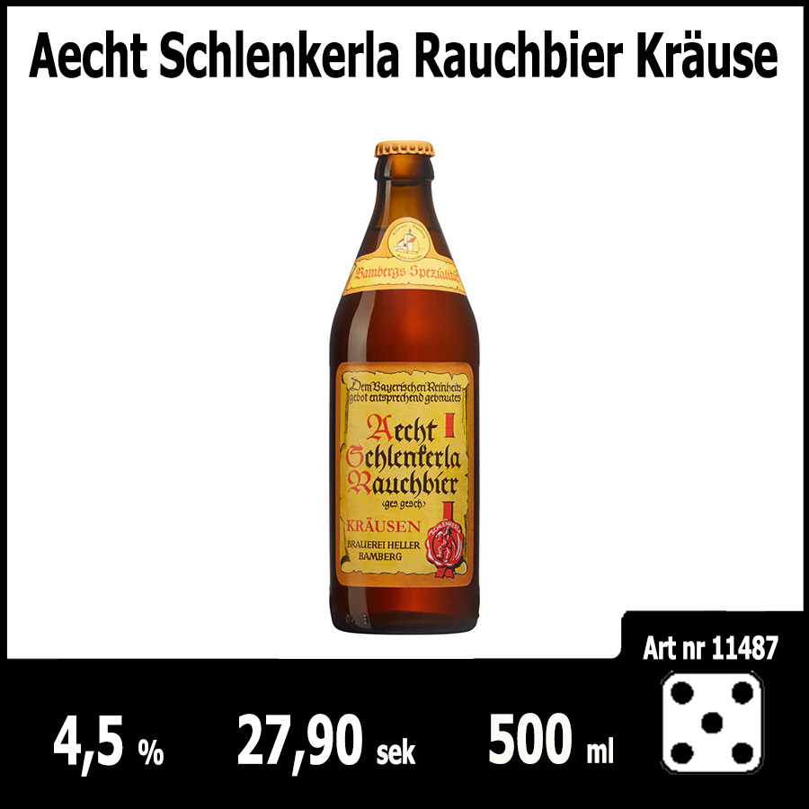 Aecht Schlenkerla Rauchbier Kräuse : Pilsner.nu