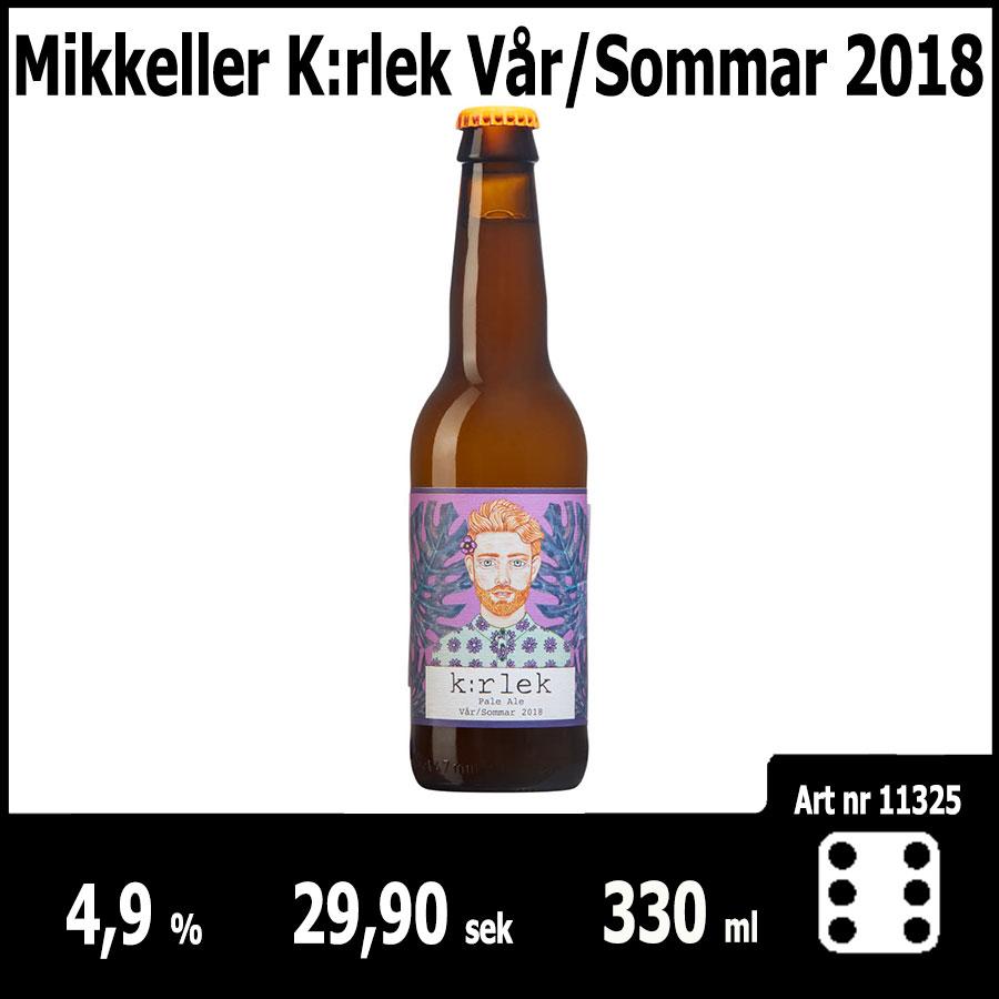 Mikkeller K:rlek Vår/Sommar 2018 : Pilsner.nu