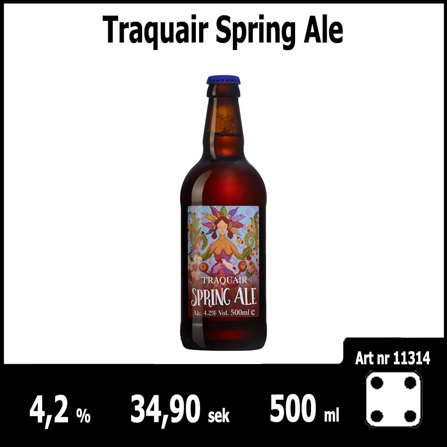 Traquair Spring Ale : Pilsner.nu
