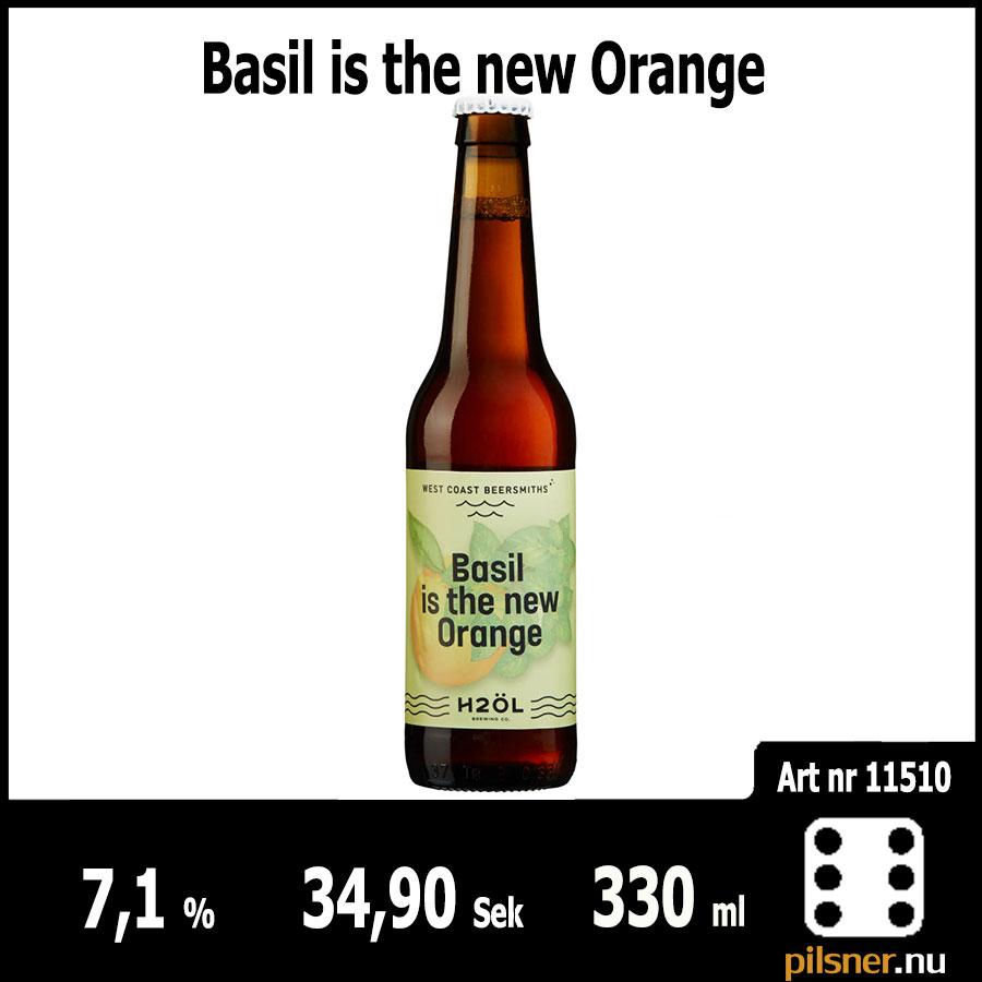 Basil is the new Orange