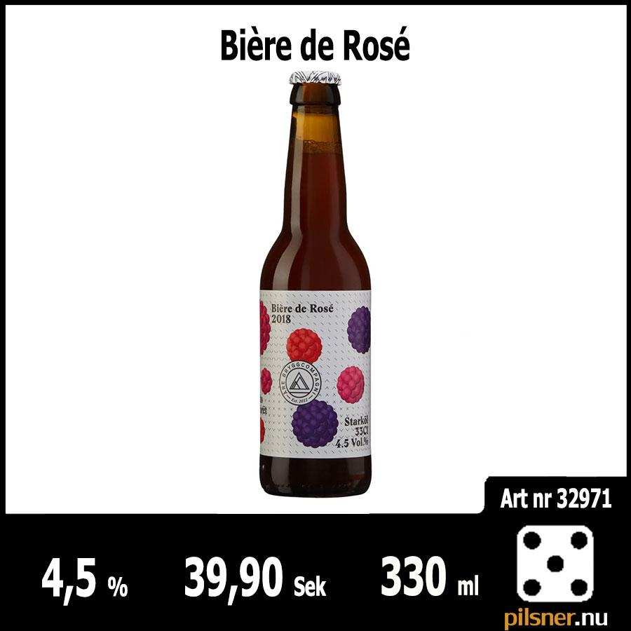 Bière de Rosé - Pilsner.nu