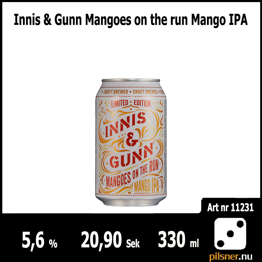 Innis & Gunn Mangoes on the run Mango IPA